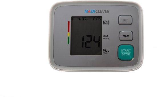 MediClever Basic Bovenarm - Bloeddrukmeter