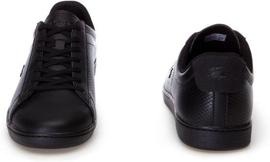 Lacoste Carnaby Evo 44 Heren Zwart 318 Sneakers Maat 7rprnFU
