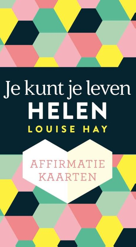 Boek cover Affirmatiekaarten – Je kunt je leven helen van Louise L. Hay (Onbekend)