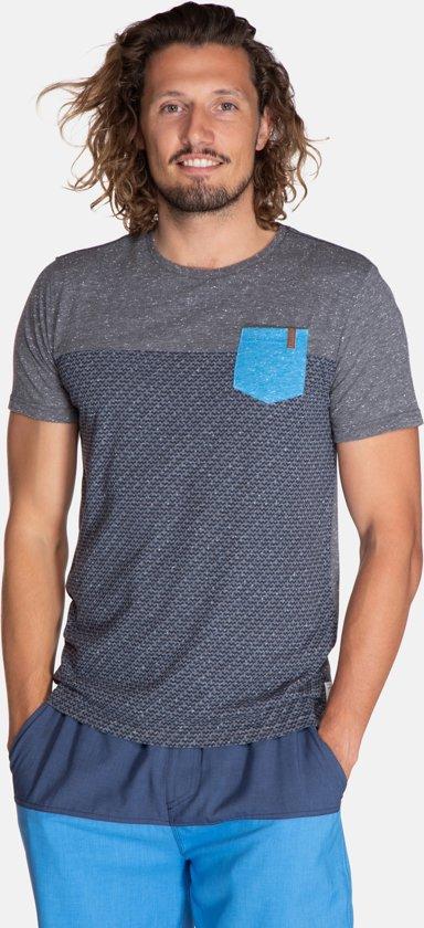 Damien Heren T-shirt - Deep Grey Maat L uDfG5ZtM 4oA3JTBq