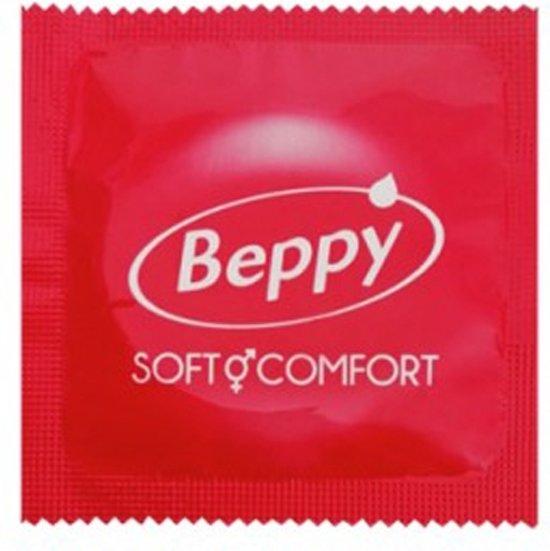 Beppy Condooms Aardbei Rood - 72 Stuks
