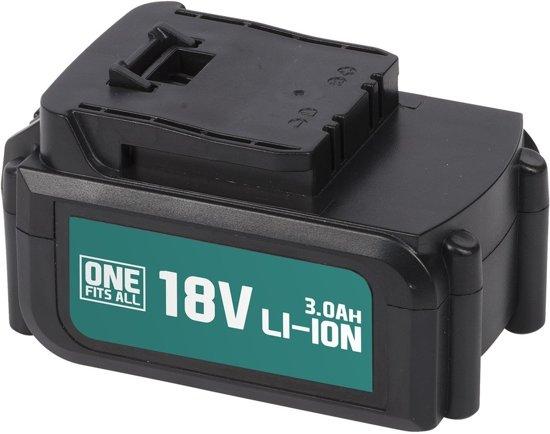 Powerplus One Fits All Accu -18 V Li-ion - 3.0 Ah