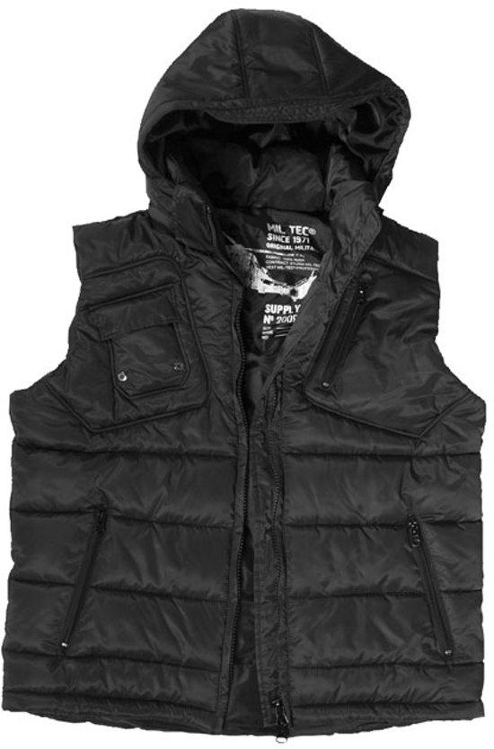 Bodywarmer Black Hooded Black Hooded Bodywarmer Bodywarmer Hooded 7Rw6xqRdX