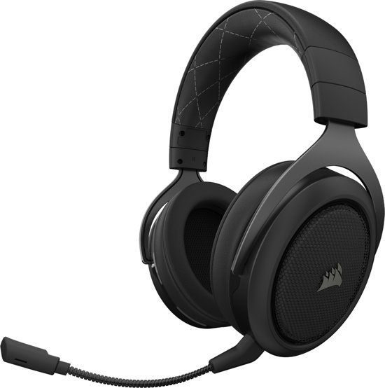Corsair HS70 Surround - Draadloze Gaming Headset - Carbon - PC