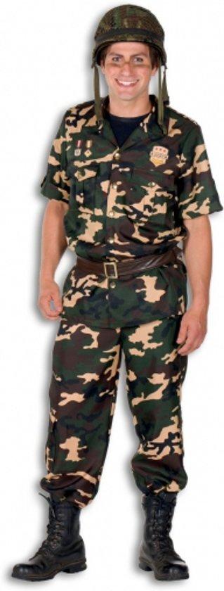 Soldaat kostuum voor heren 52 (l)