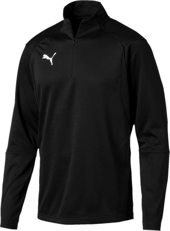 Top Black Liga Zip White 4 Sportshirt 1 Puma Heren RzfqnIq