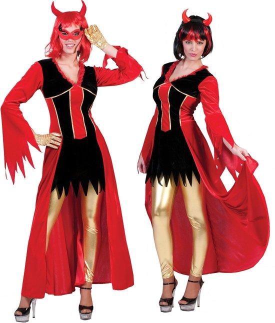 Halloween Kostuum Vrouw.Horror Halloween Kostuum Duivelin Ava Vrouw Maat 44 46 Halloween Verkleedkleding