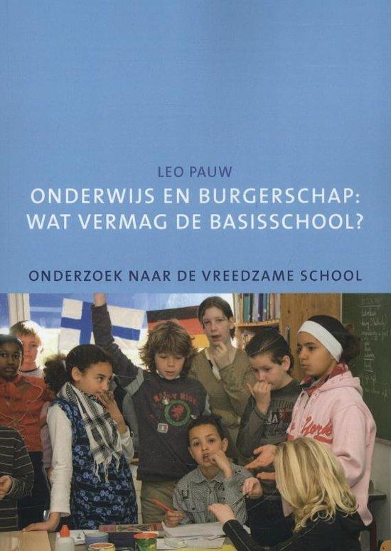 Onderwijs en burgerschap: wat vermag de basisschool?