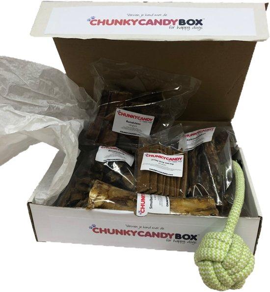 ChunkCandyBox large, hondensnack-box voor grote honden vanaf 35 Kg