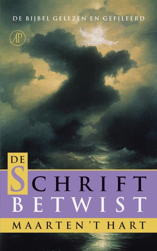 Boek cover De schrift betwist / deel I en II van Maarten t Hart (Onbekend)
