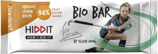 Ellen Hoog Bio Bar - Abrikoos/Cashew/Haver - 12st.