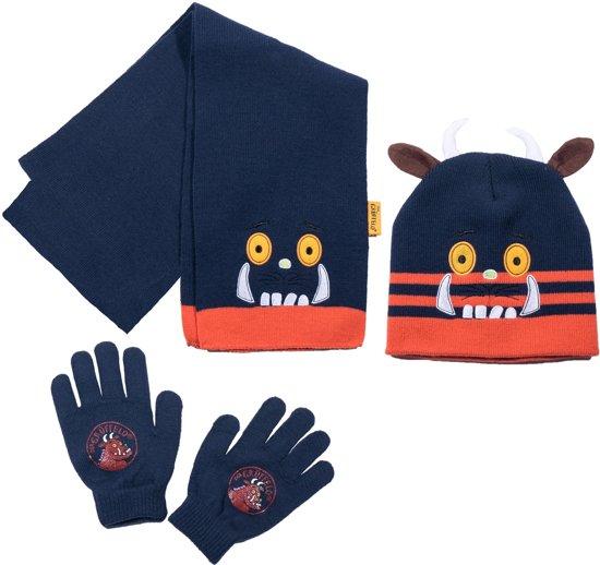 Grüffelo-muts-en-handschoenen-marineblauw-maat-52