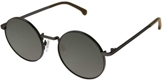 a65f8953c4c96b Komono Crafted Lennon Black Green zonnebril KOM-S2552