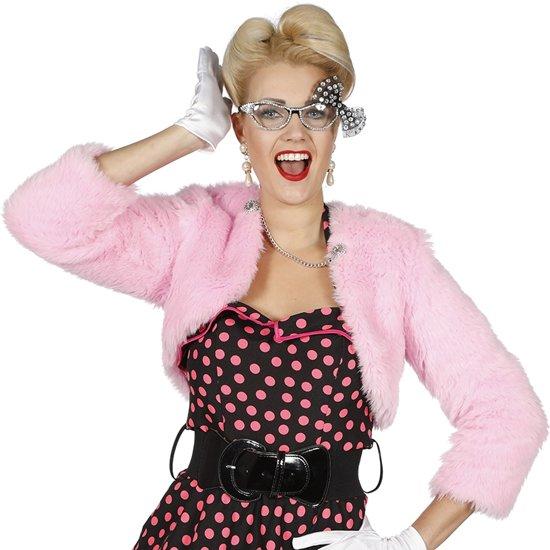 Bolero pink voor dame