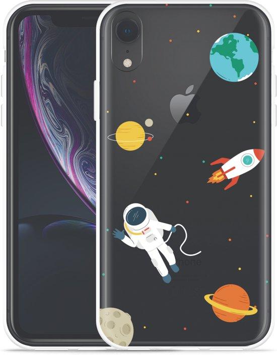 Apple iPhone Xr Hoesje Astronaut