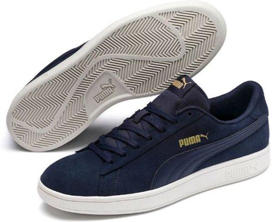 Team Smash White Peacoat Sneakers Puma 45 Gold Whisper Unisex V2 Maat XFOwanqxZ