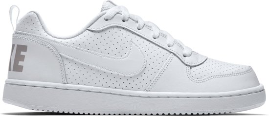 106487e5914 Low kids Borough Maat Sneakers Meisjes 36 Nike Court Wit BwqxUInpX