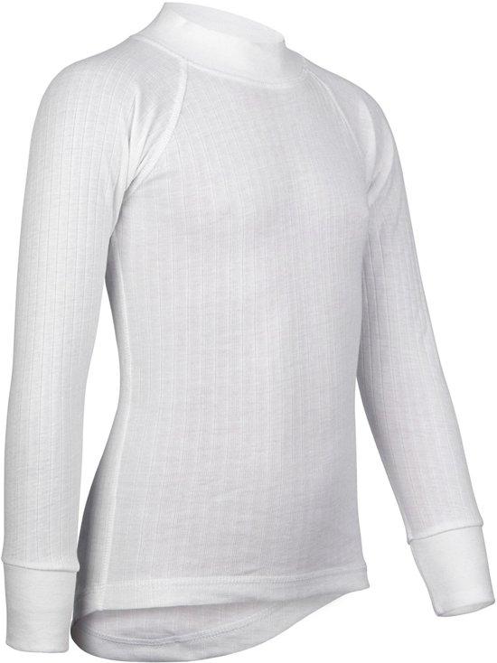 Avento Thermoshirt - Sportshirt - Kinderen - 140 - Wit