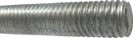 GB Draadeind gegalvaniseerd kwaliteit 4.8 m10 x 3000mm