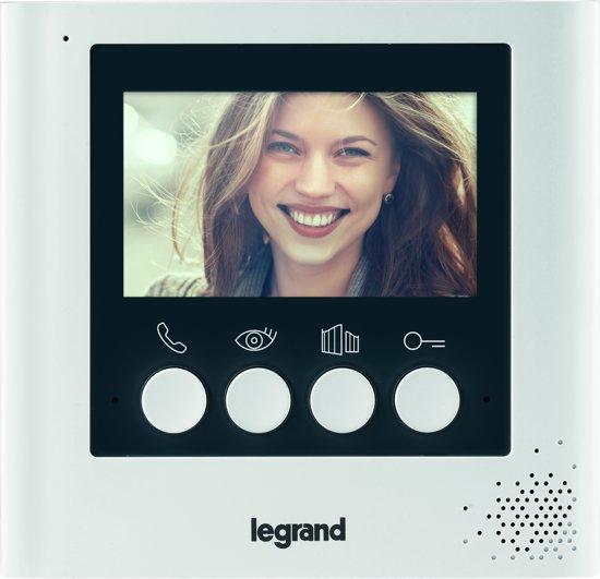 """LEGRAND 360° videofoon uitbreiding 4,3"""" kleurenscherm (NEW)"""
