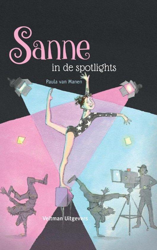 Afbeelding van Sanne in de spotlights