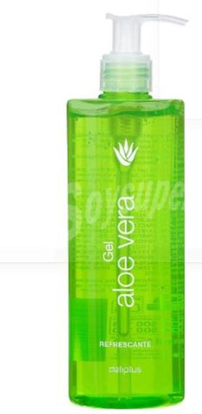 Aloë Vera-gel verfrissend, hydraterend. Voor het hele lichaam en gezicht