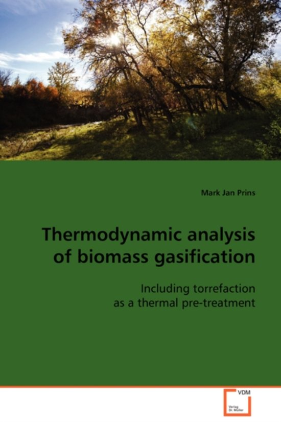 Thermodynamic Analysis of Biomass Gasification