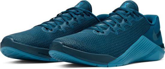 Nike metcon 5 blauw maat: 45