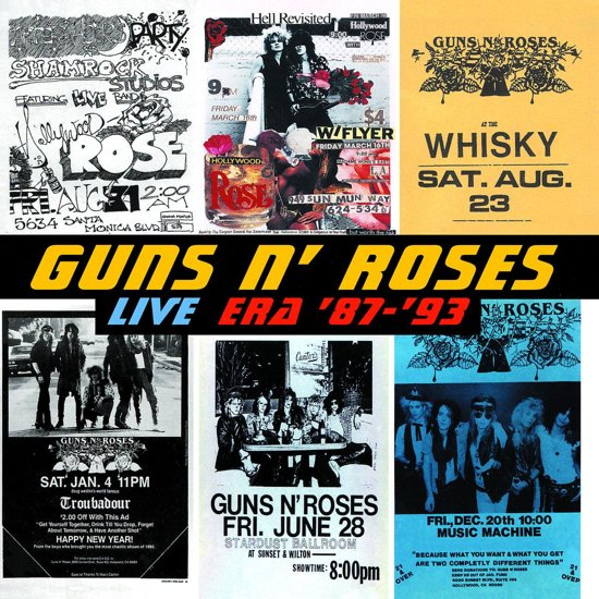 Live Era '87-'93: The Best Of Guns N' Roses Live