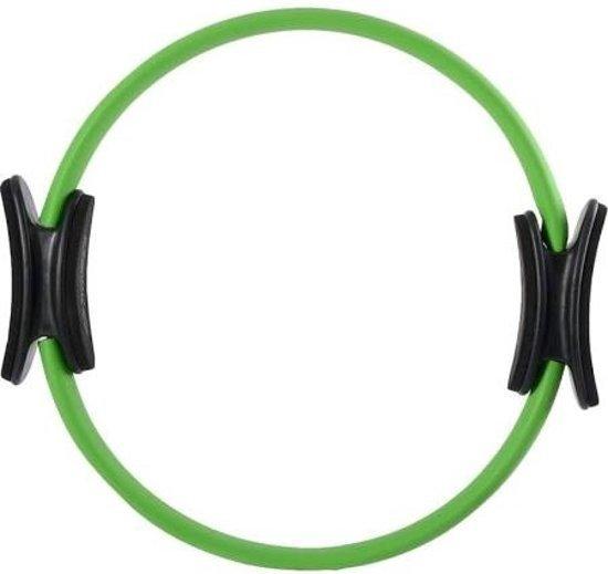 Schildkröt Fitness Pilates ring - Diameter 38 cm - Glasvezel - Groen/Antraciet