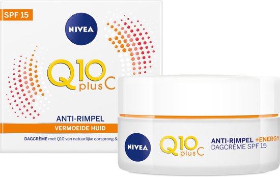 NIVEA Q10plusC Anti-Rimpel +Energy Dagcrème SPF 15