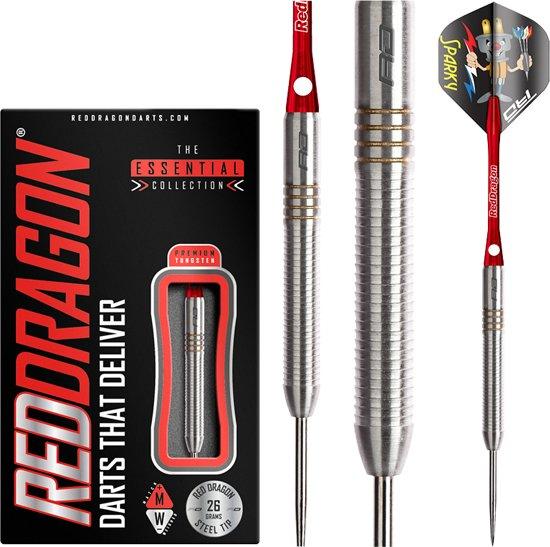 RED DRAGON - Wes Harms Steeltip Tungsten Dartpijlen Professioneel - 26 gram