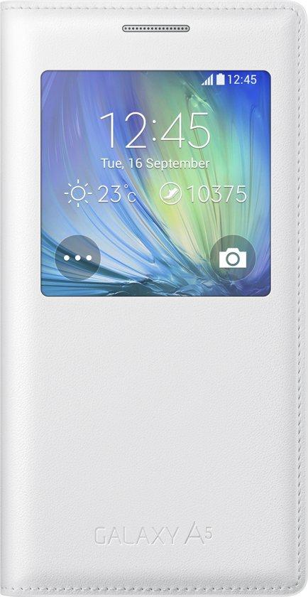 S Voir Couverture Originale Pour Galaxie A5 - Blanc 9Hsh8dqn