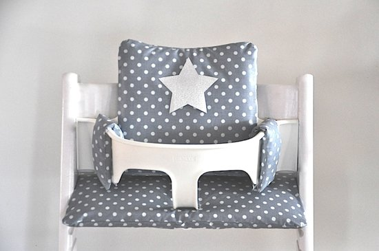 Bol gecoate kussens voor de stokke tripp trapp grey star
