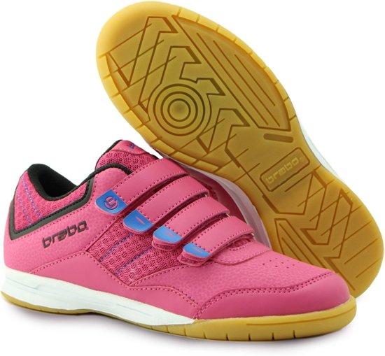 e7175e5bb25 Brabo Klittenband Indoor Sportschoenen - Maat 31 - Unisex - roze/blauw