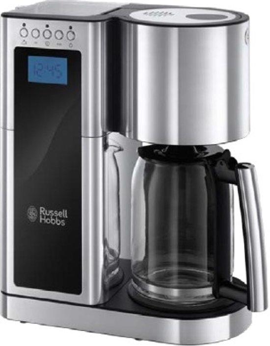 Russell Hobbs Elegance Glass 23370-56 - Filter Koffiezetapparaat - Zilver