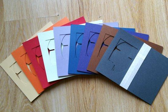 Geliefde bol.com | Blanco hobbykaarten set, Zelf kaarten maken 10 per set #SV68