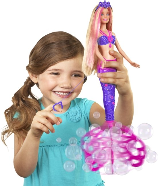 Barbie Bubbelpret Zeemeermin - Barbie pop