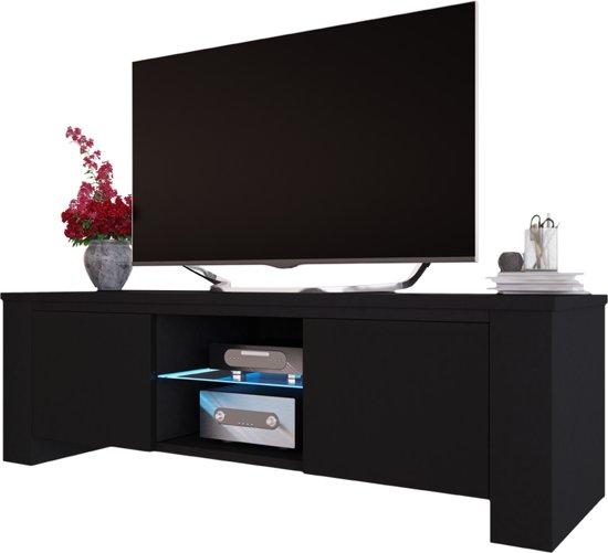 Spiksplinternieuw bol.com | TV meubel kast Jackson 130 cm met LED verlichting body QI-99