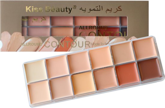 Foundation & Concealer Palette 12 Colors