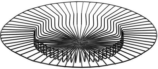 Serax Paglieta mand D50cm H5cm zwart
