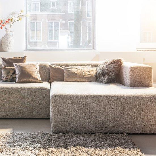 Hoekbank Met Lounge.4x6 Sofa Moderne Hoekbank X6 Lounge Bank Stof