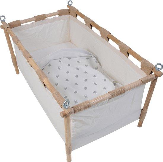Dooky Baby Deken - Silver Stars 70x85 cm - geschikt voor wieg, autostoel en kinderwagen
