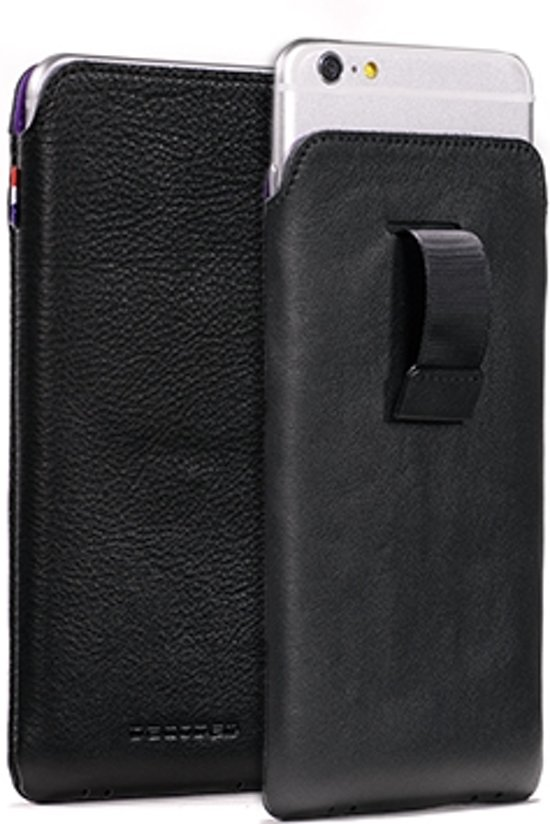 huge discount 21180 a8f43 Decoded leather Pouch met strap voor iPhone 6 Plus (5.5 inch) - Bruin