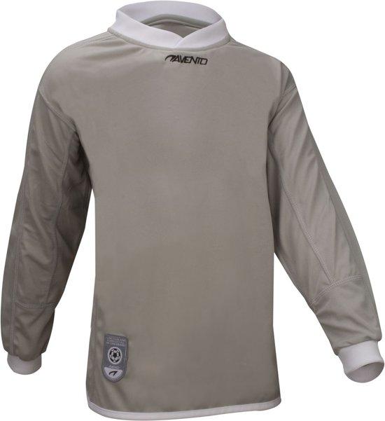 Avento - Keepersshirt - Kinderen - Maat 176 - Grijs/Wit