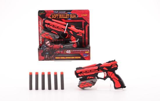 Serve & Protect Shooter Starter 18cm met 6 pijlen