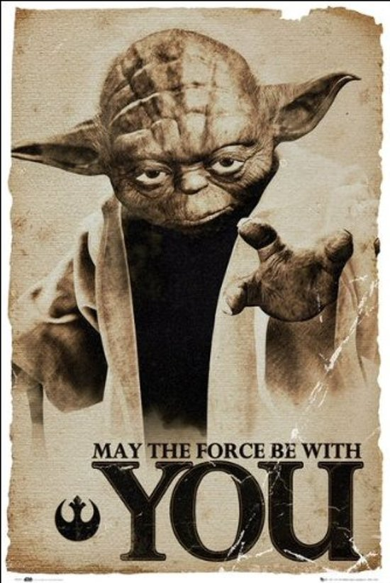 Yoda-Star Wars-Force-poster-61x91.5cm.