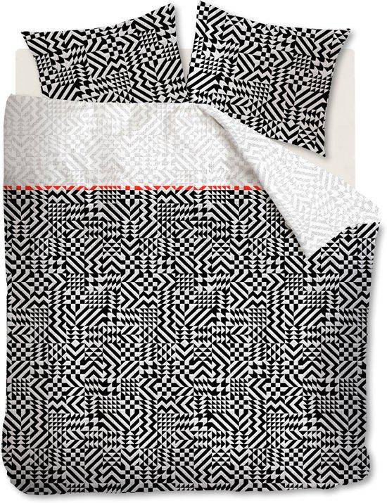 Beddinghouse Kumiko - Dekbedovertrek - Eenpersoons - 140x200/220 cm - Zwart