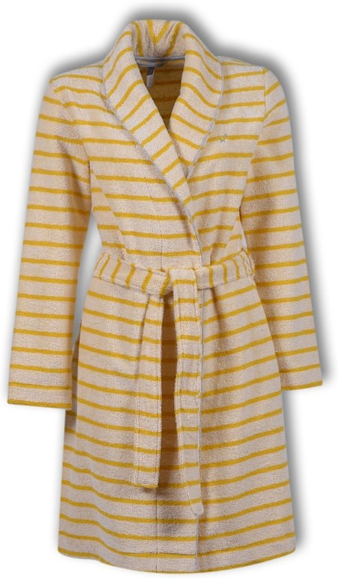 24bfa327bf3 bol.com | Dames badjas gebroken wit geel