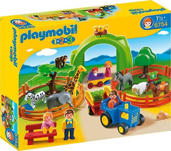 Playmobil 123 Grote Dierentuin - 6754